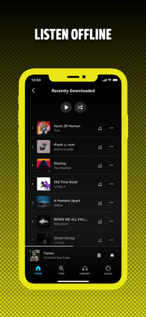 Amazon Music: Songs & Podcasts Screenshot