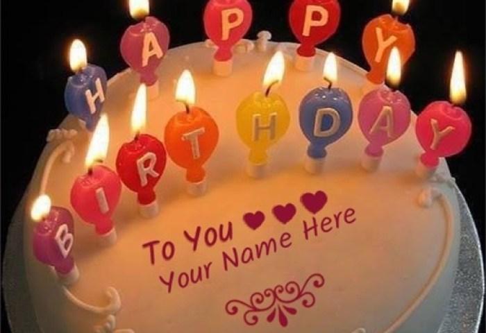 Write Name On Birthday Cake By Nitin Bhalala