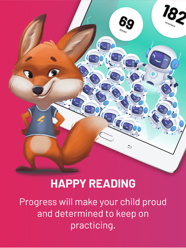 KOBI Helps Children Read Screenshot