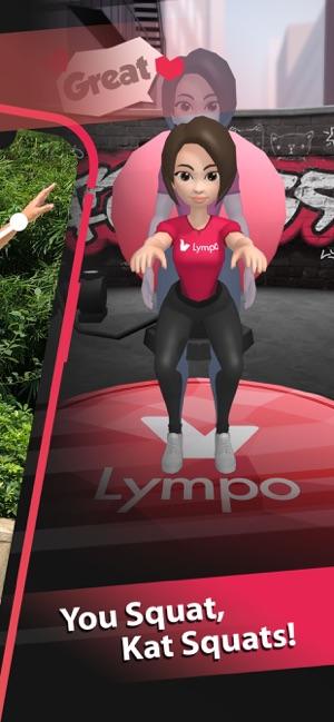 Lympo Squat Screenshot