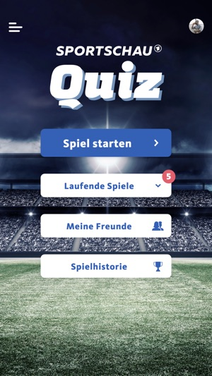 SPORTSCHAU Quiz Screenshot