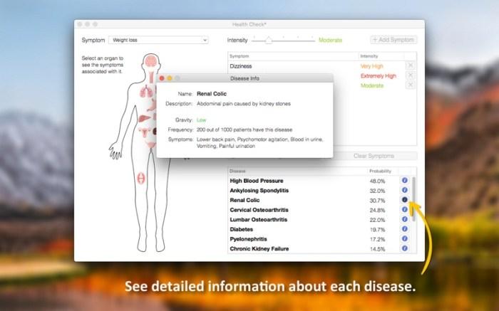 Health Check - Symptom Checker Screenshot 05 x36bkn