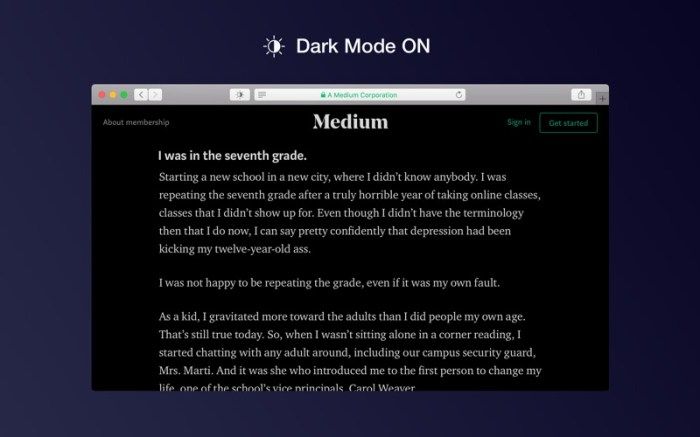 Dark Mode for Safari Screenshot 04 1fje41wn