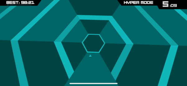 ‎Super Hexagon Screenshot