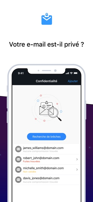 Bitdefender Mobile Security Capture d'écran