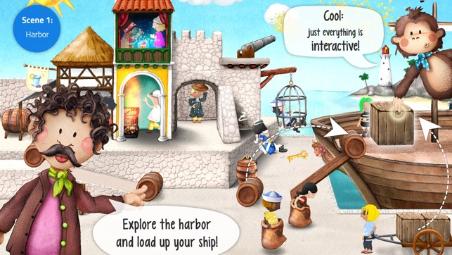 Tiny Pirates: Toddler's App Screenshot