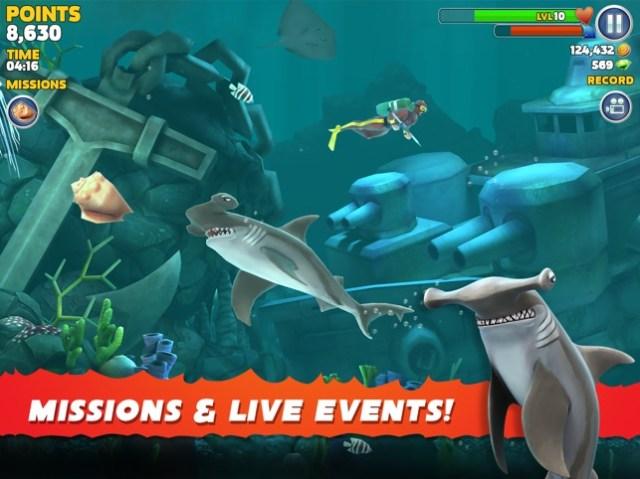 Hungry Shark Evolution Screenshot