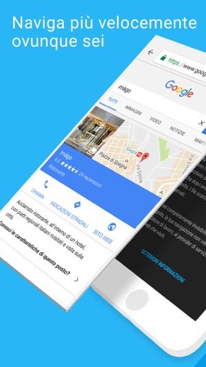 Chrome - Browser web di Google Screenshot