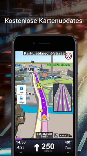 Auto Navigation: Karten & GPS Screenshot