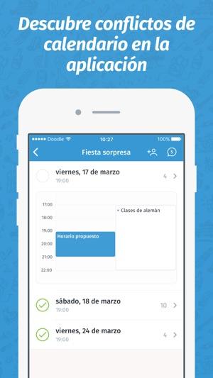 Doodle: Planifica eventos Screenshot