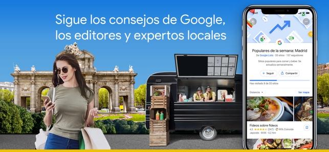 Google Maps - GPS Navegación Screenshot