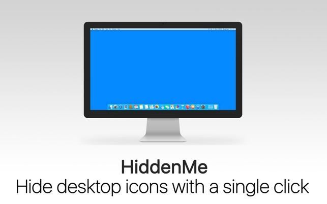 HiddenMe: Hide Desktop Icons Screenshot