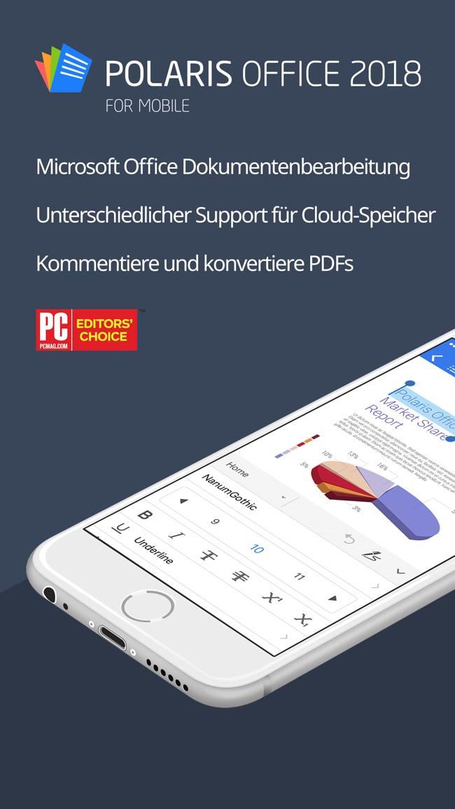 Polaris Office 2018 -Docs, PDF Screenshot