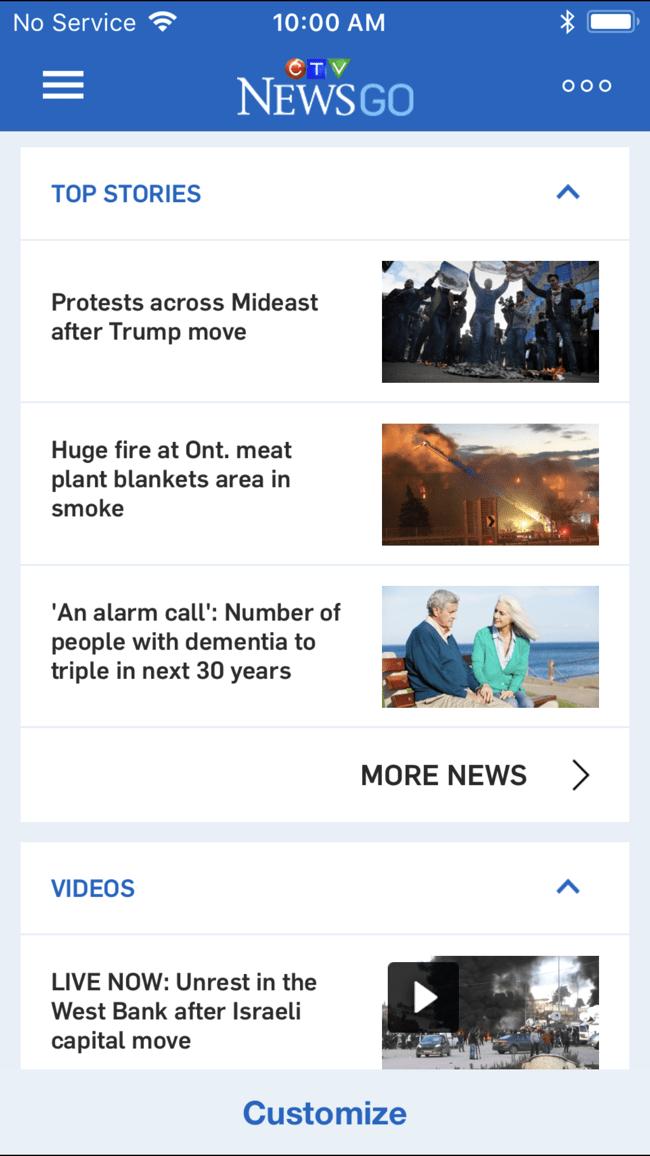 CTV News GO Screenshot