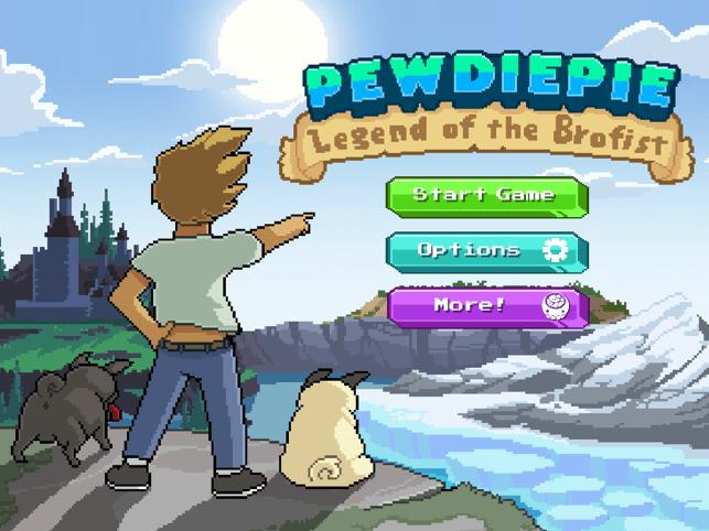 ?PewDiePie: Legend of Brofist Screenshot