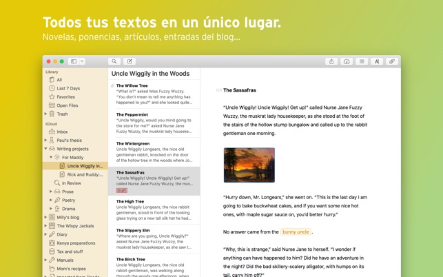 Ulysses Screenshot