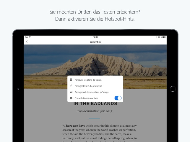 Adobe XD Screenshot