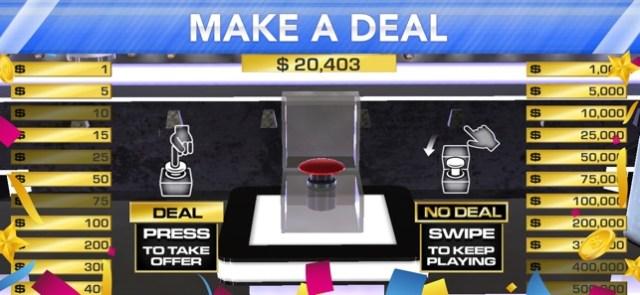 Deal or No Deal Screenshot