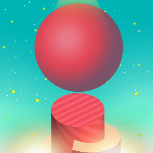 Fun Ball Spiral Jump,Run