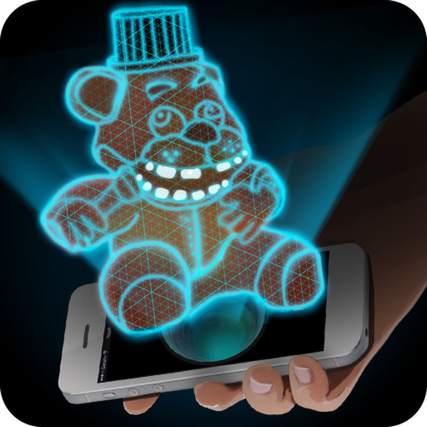 Hologram Freddy 3D Simulator