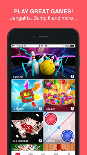 Moove - New Games, Play & Chat Screenshot