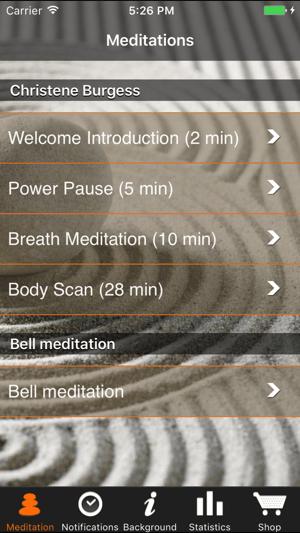 iMindfulness Screenshot