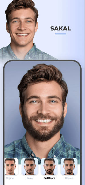‎FaceApp - YZ Selfie Editörü Screenshot