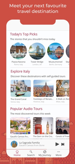 ‎Piri - Audio Travel Guide Screenshot