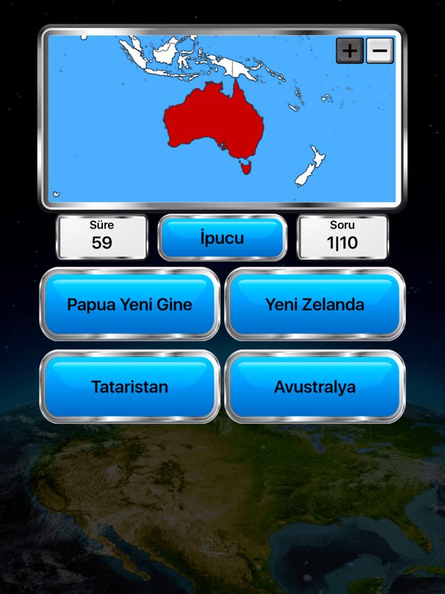 Dünya Coğrafyası Screenshot