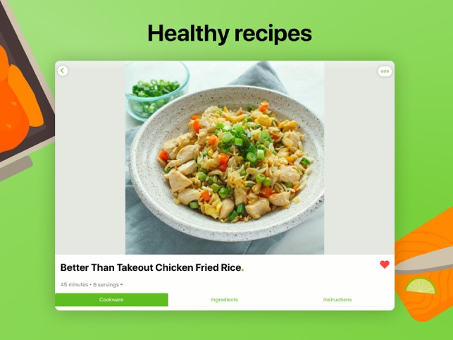 ‎Mealime Meal Plans & Recipes Screenshot