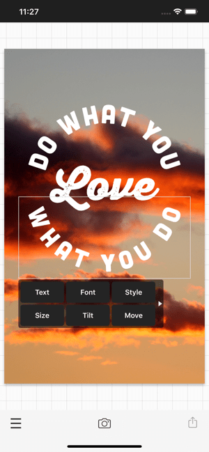 ‎Phonto - Text on Photos Screenshot