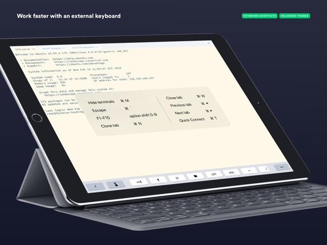 Termius - SSH client Screenshot