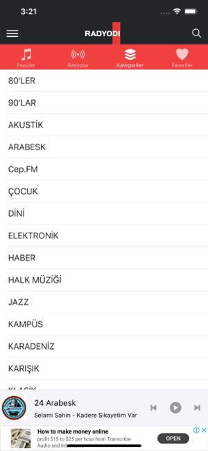 Radyodi Canlı Radyo Dinle Screenshot