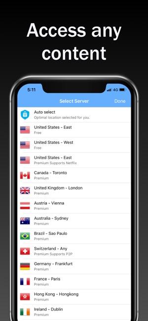 VPN Vault -VPN Proxy Unlimited Screenshot