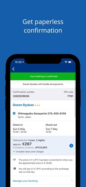 Booking.com Travel Deals Screenshot