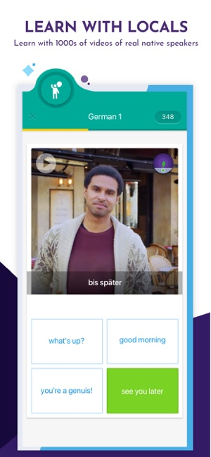 Learn Languages with Memrise Screenshot