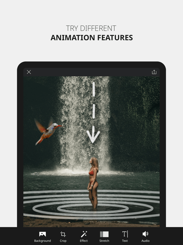 ‎VIMAGE - Cinemagraph Animator Screenshot