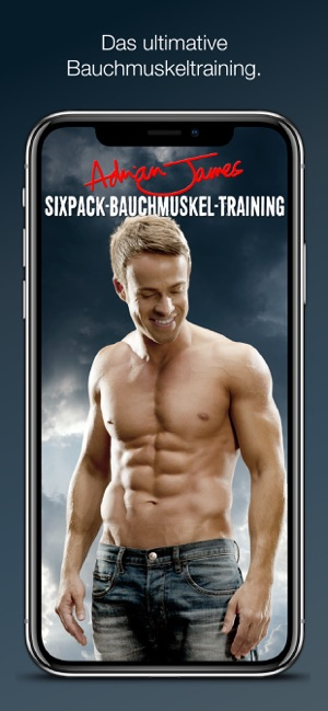 ‎Adrian James: 6 Pack Abs (DE) Screenshot