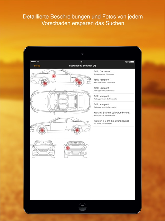 Sixt Autovermietung Screenshot