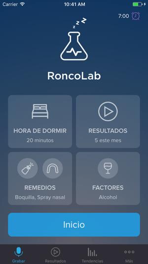 RoncoLab (SnoreLab) Screenshot
