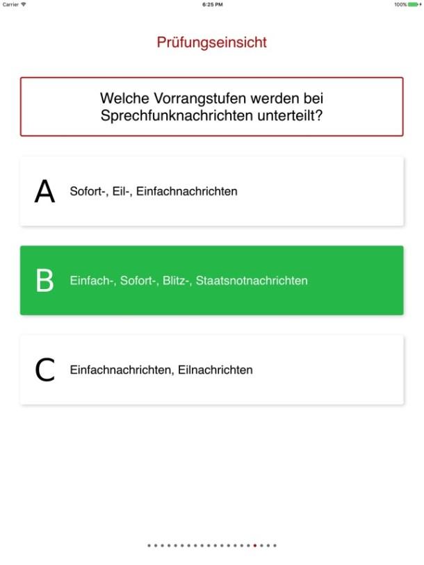 Feuerwehr Prüfungshilfe Screenshot
