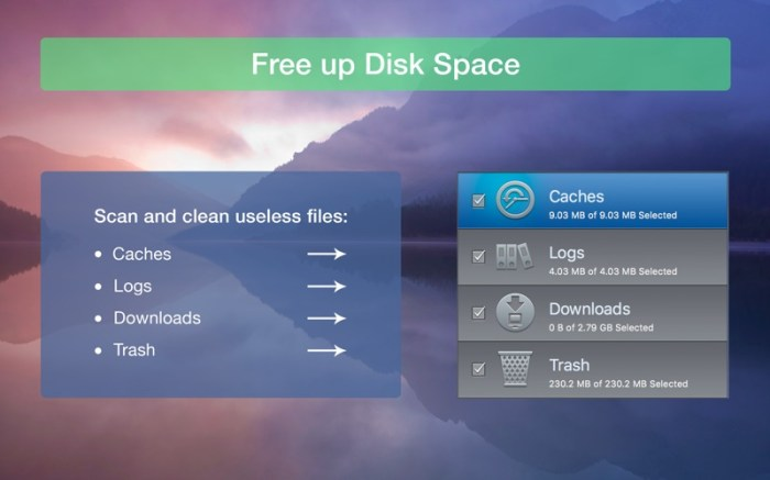 Clear Disk Space: ClearDisk Screenshot 2 ikzeg1n