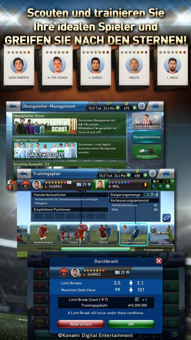 PES CLUB MANAGER Screenshot