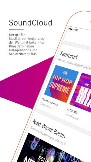 SoundCloud - Musik & Audio Screenshot