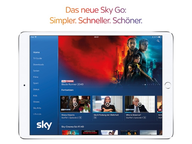 Sky Go Screenshot