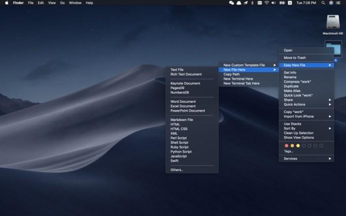 Easy New File Screenshot 01 9nlsbvn
