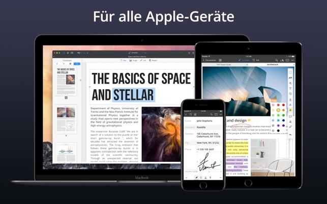 PDF Expert: PDF bearbeiten Screenshot