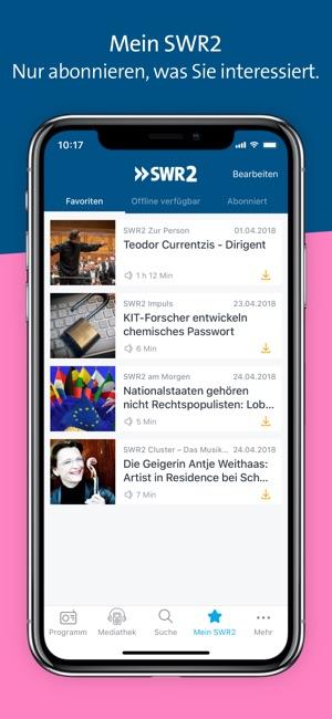 SWR2 Screenshot