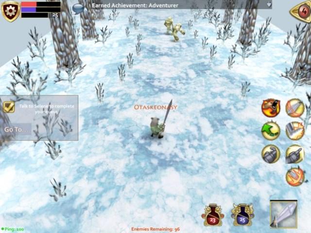 Pocket Legends Screenshot