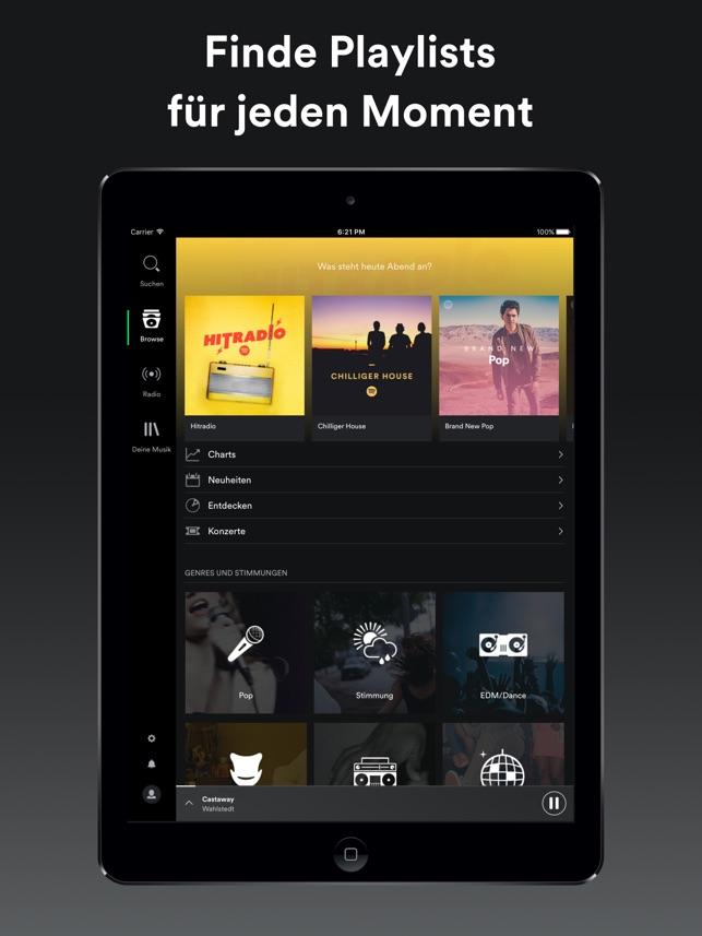 Spotify Music Screenshot